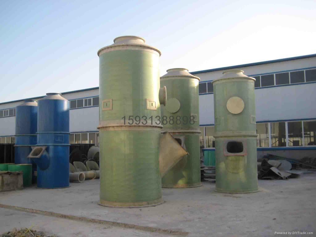 玻璃钢锅炉除尘器 5
