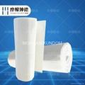 Nano-microporous insulation felt
