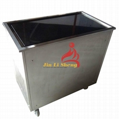 Cold Stone Marble Slab Fry Fried Ice Cream Machine for mix use