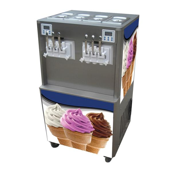 BQ638 4+2 mix Flavor Soft Serve Ice Cream Frozen Yogurt Machine