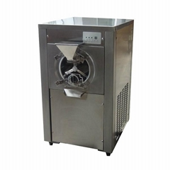 Hourly 20 Liters Commercial Ice Cream Gelato Machine Batch Freezer