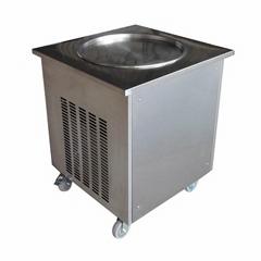 商用单锅炒冰机 炒冰淇淋卷机器