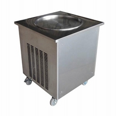Fry Ice Cream Machine Single Pan