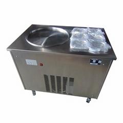W1120炒冰机炒冰淇淋卷机,水果炒冰机