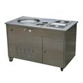 WF1120手动炒冰机,生产炒