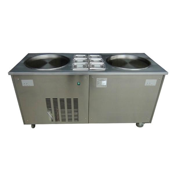 金利生炒冰機商用 雙鍋炒酸奶機器 炒冰淇淋機冰激凌機