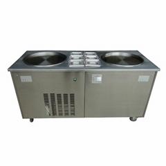 金利生炒冰机商用 双锅炒酸奶机器 炒冰淇淋机冰激凌机