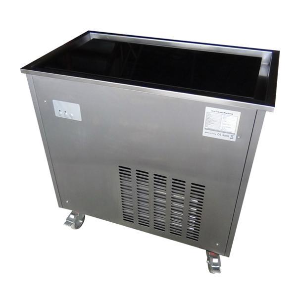 High Quality CB-100 Cold Stone Marble Slab Top Fry Ice Cream Machine