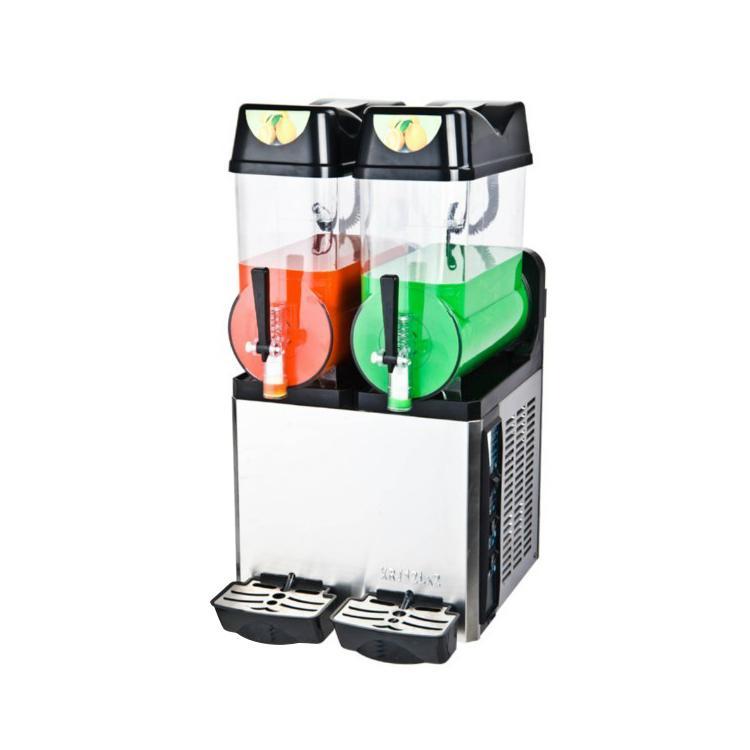 XRJ12LX2 Double Bowl Commercial Slush And Smoothie Machine