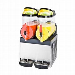 XRJ10LX2 双缸雪泥机商用 雪融机 雪粒机