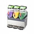 XRJ10LX3 三缸雪泥机 雪粒果汁机 沙冰机冷饮机
