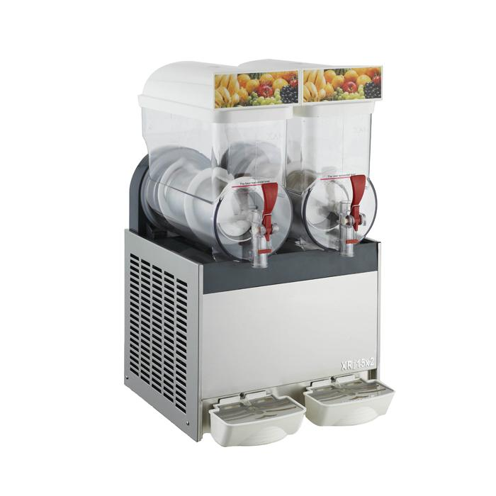XRJ15LX2 雙缸雪泥機雪粒機 商用雪融機沙冰機