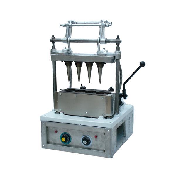 Each Output 4 Cones Wafer Ice Cream Cone Making Machine