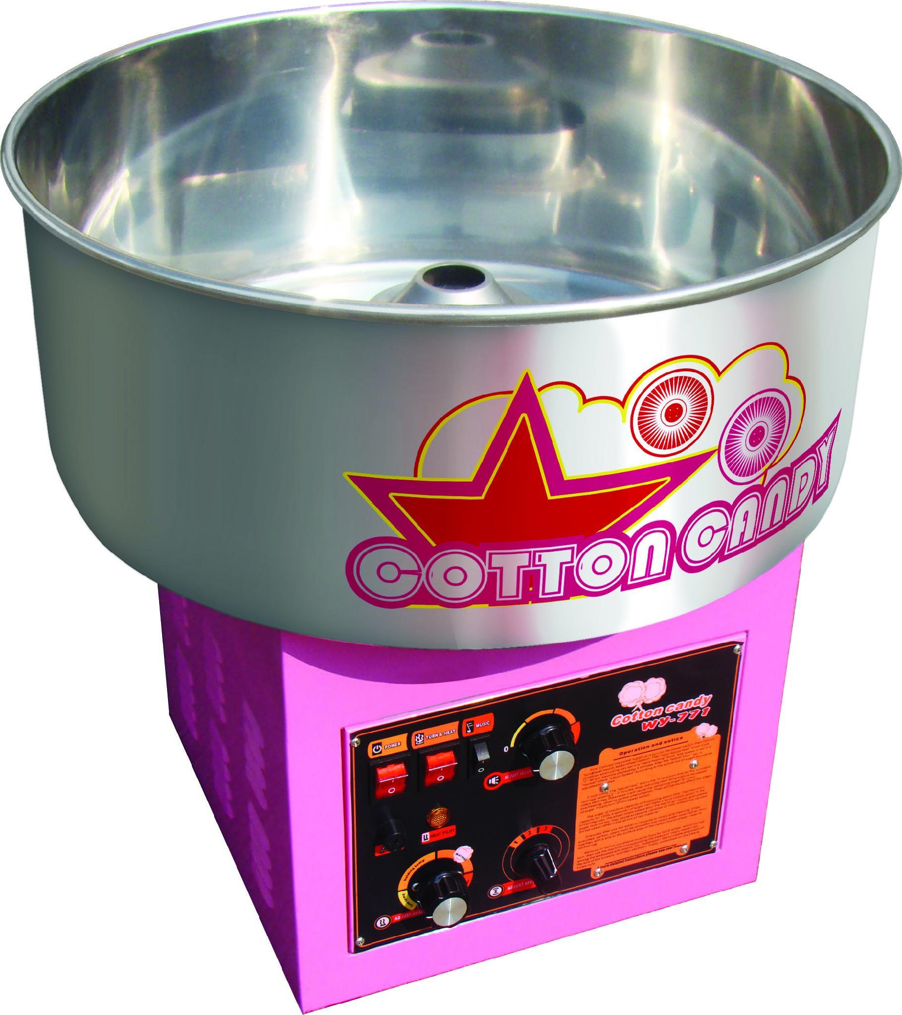 WY-771商用电棉花糖机,全自动花式拉丝棉花糖机 1