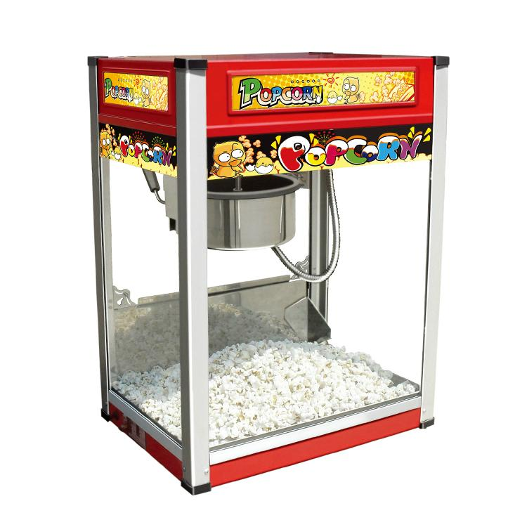 Factory Direct Sale VBG-801 Popcorn Vending Machine, Automatic Popcorn Machine