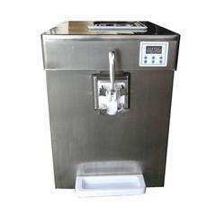 单口味软冰淇淋机 小型台式软冰激凌机 商用软冰淇淋机价格