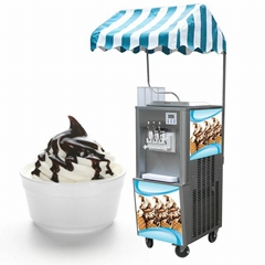 BQ332 Electro Freezer Ice Cream Machine, Real Fruit Ice Cream Machine