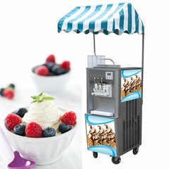 BQ332 Commercial Soft Serve Ice Cream Machine, Ice Cream Machine All In One