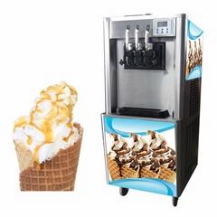BQ322 Yoghurt Ice Cream Machine, Rainbow Ice Cream Machine