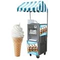 BQ322 Hot Ice Cream Machine, Cool Soft