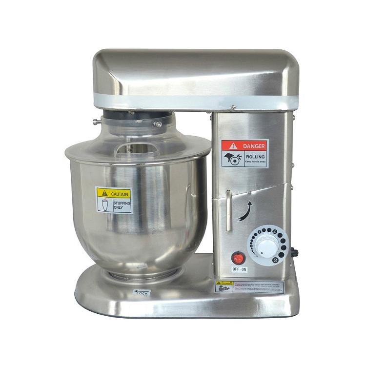 不锈钢5升鲜奶搅拌机 低噪音面包房电动打蛋器搅拌机
