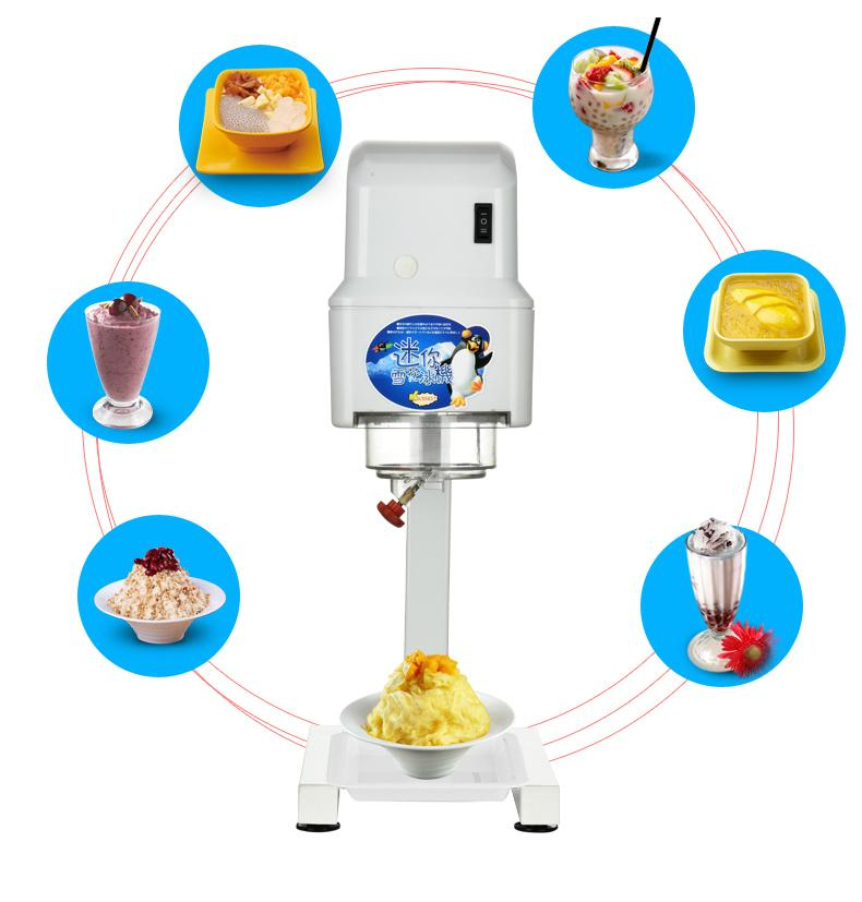 Commercial Electric Taiwan Snow Ice Shaver Machine