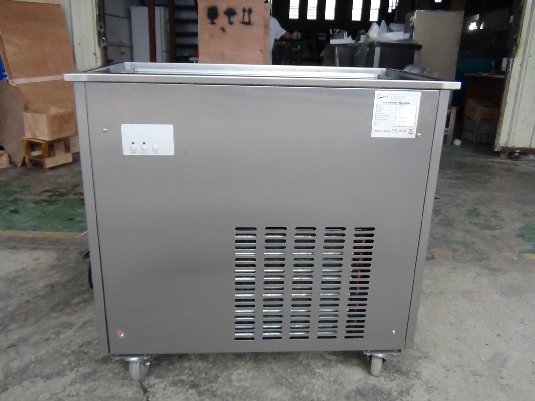 CB-100 Fried Ice Cream Machine Rolls, Fired Ice Cream Machine 2