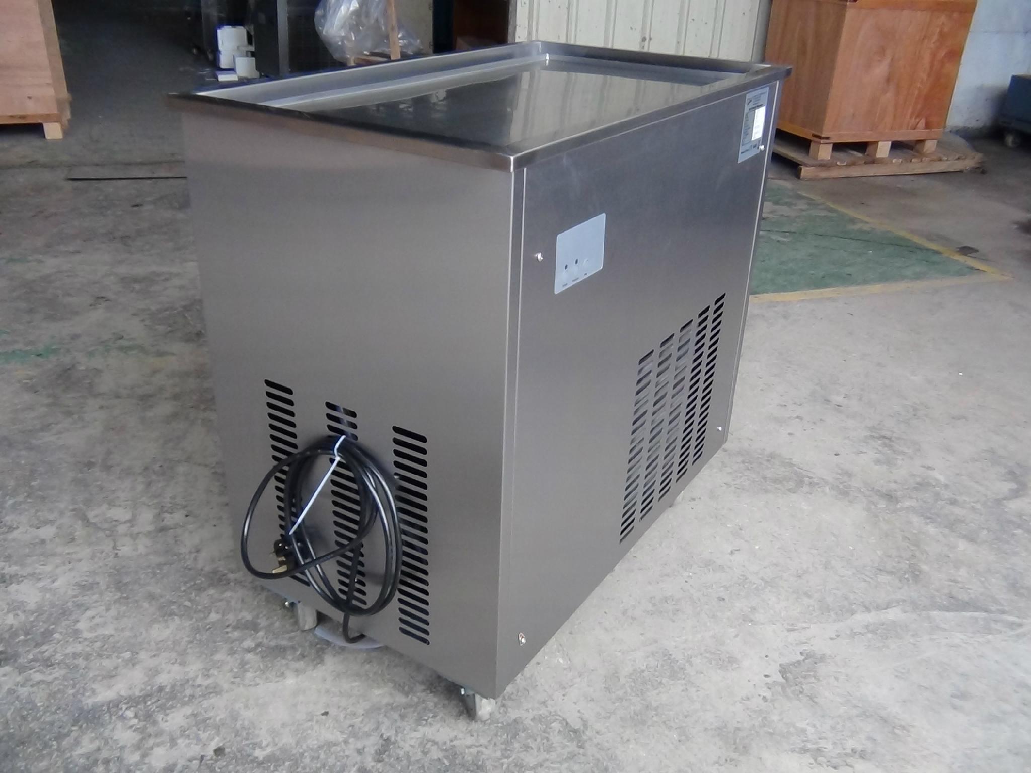 CB-100 Fried Ice Cream Machine Rolls, Fired Ice Cream Machine 4