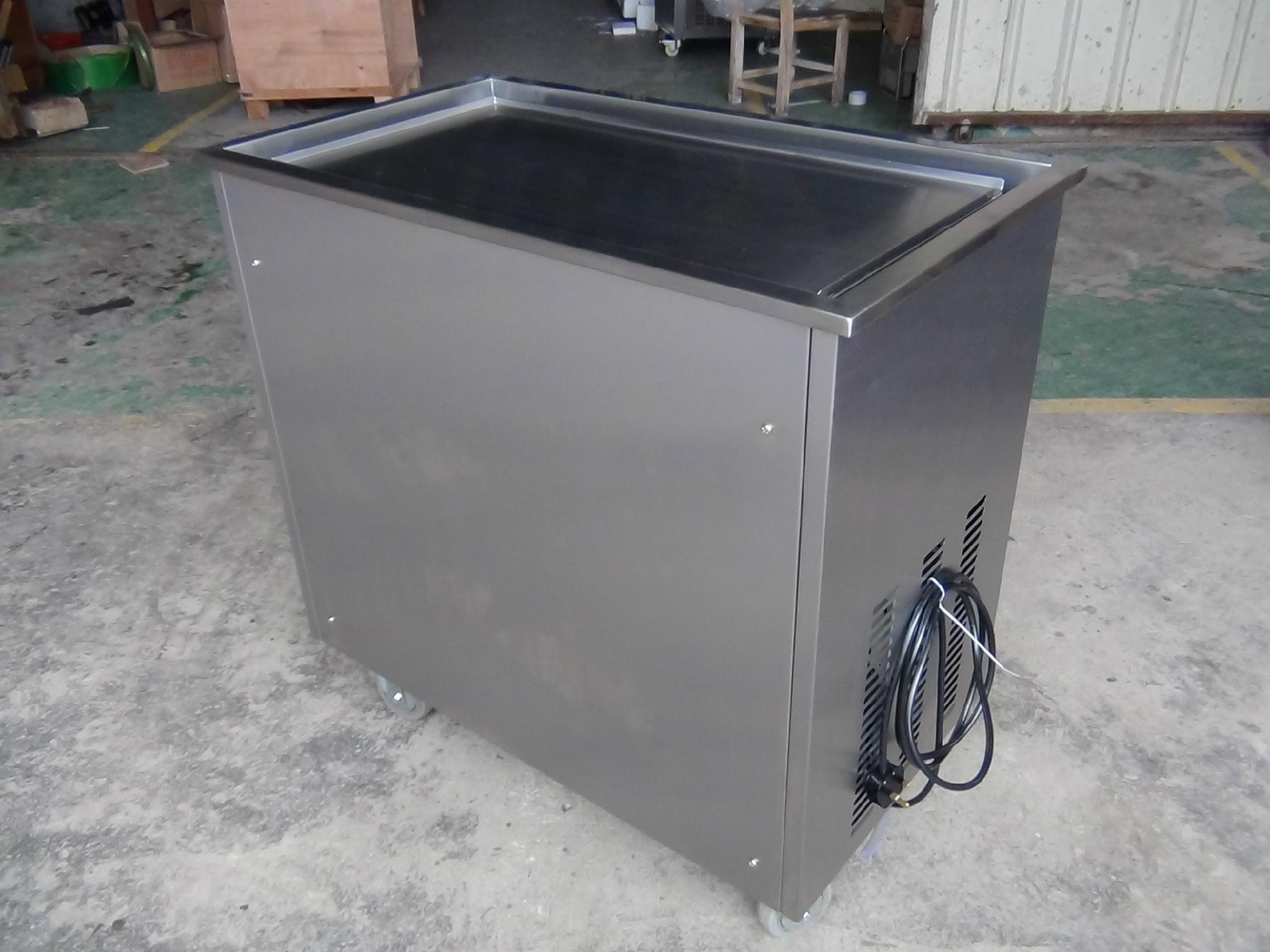 CB-100 Fried Ice Cream Machine Rolls, Fired Ice Cream Machine 6