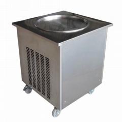 泰式单锅炒冰机,商用炒酸奶机炒冰淇淋卷机