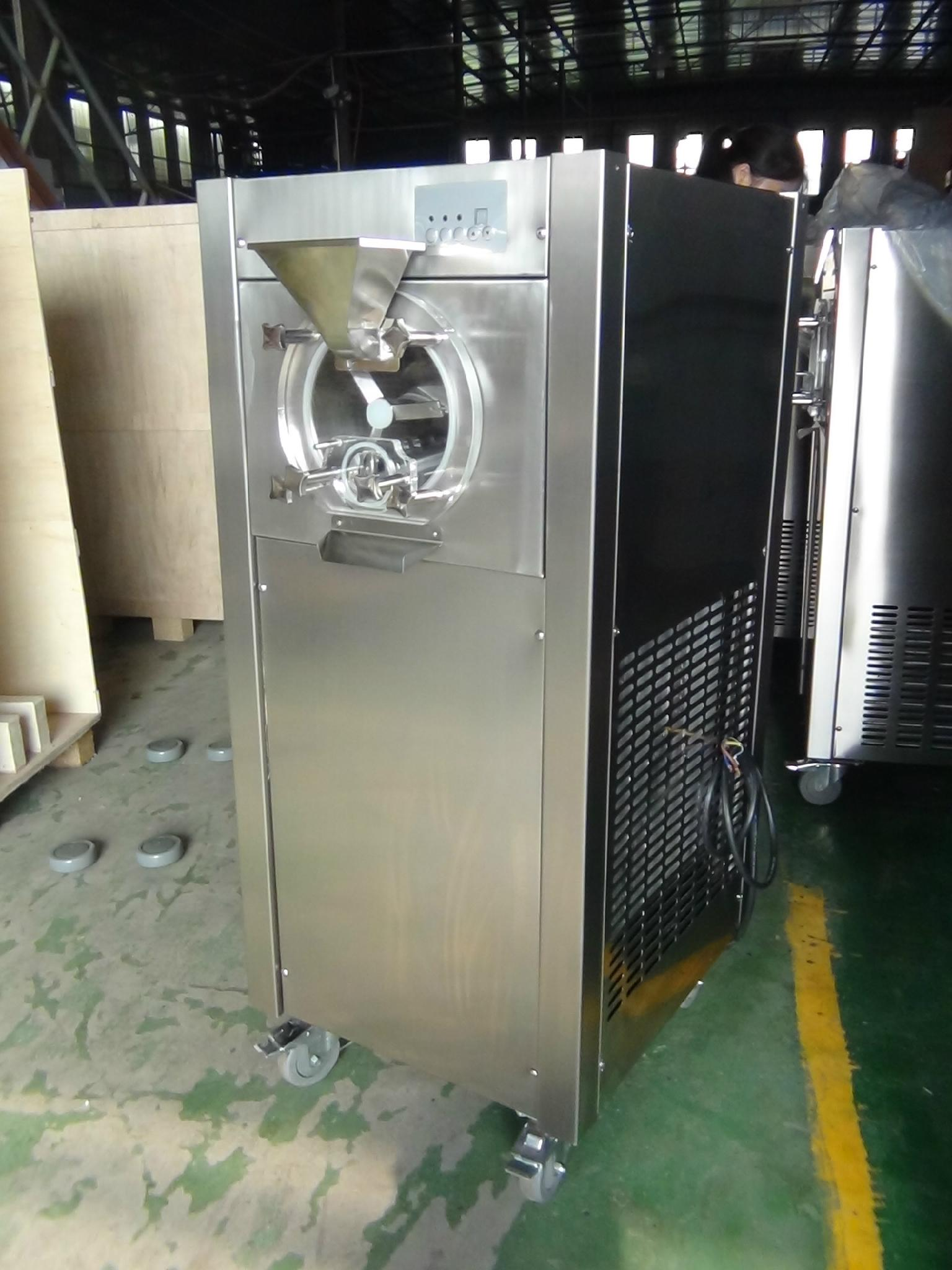 Lower Cost Hot Sale Best Commercial ltalian Hard Ice Cream gelato machine