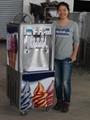 软冰淇淋机冰激凌机商用全自动甜筒雪糕机器圣代立式