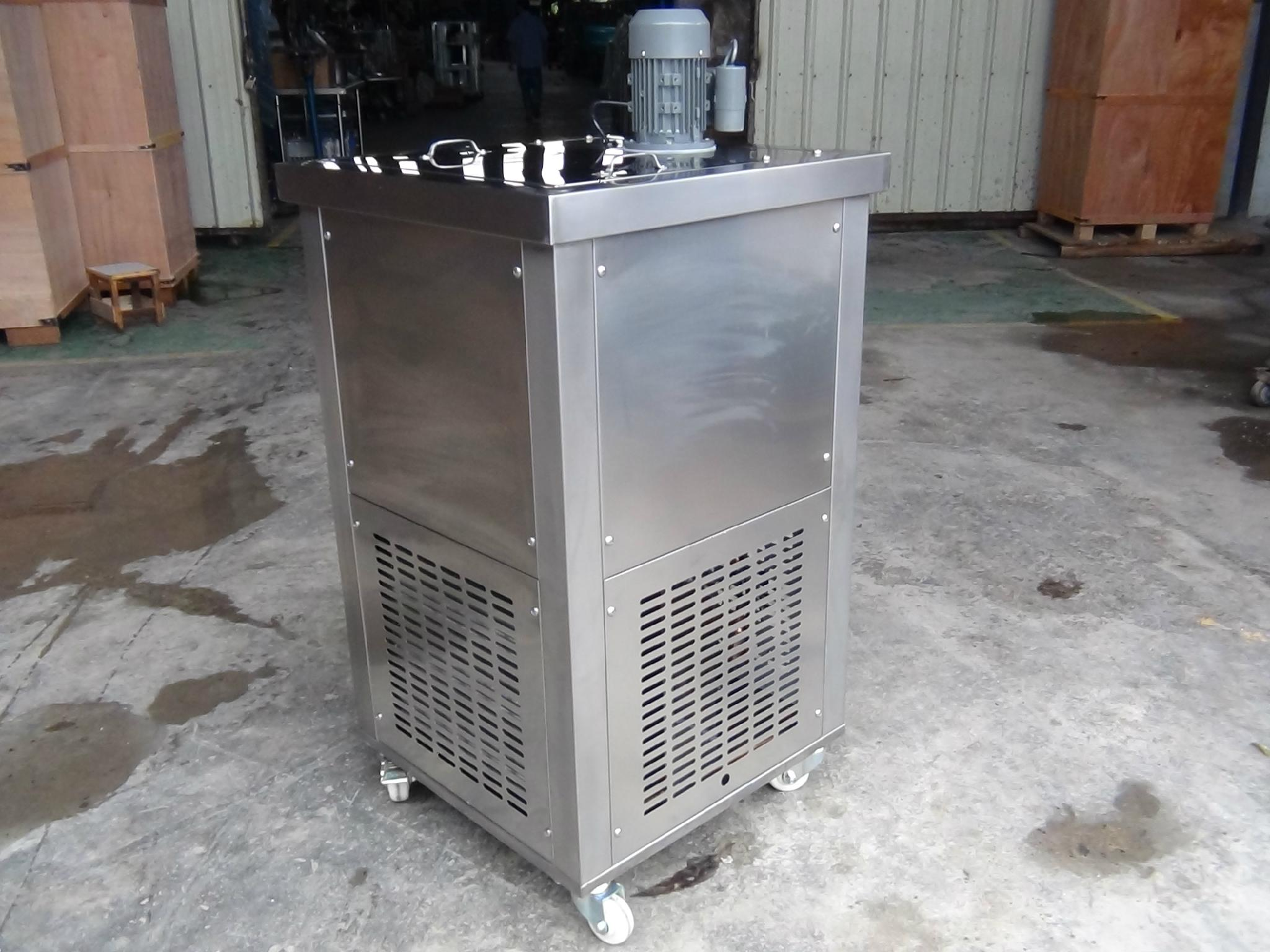 CE Tecumseh Compressor Brine Tank Ice Pop Machine Ice Lolly Machine For Sale