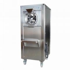 商用硬質冰淇淋機雪糕機奶球甜筒雪糕機冰激凌機全自動