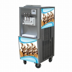 Chinese Big Capacity 3 In 1 Soft Serve Ice Cream Making Machine For Sale