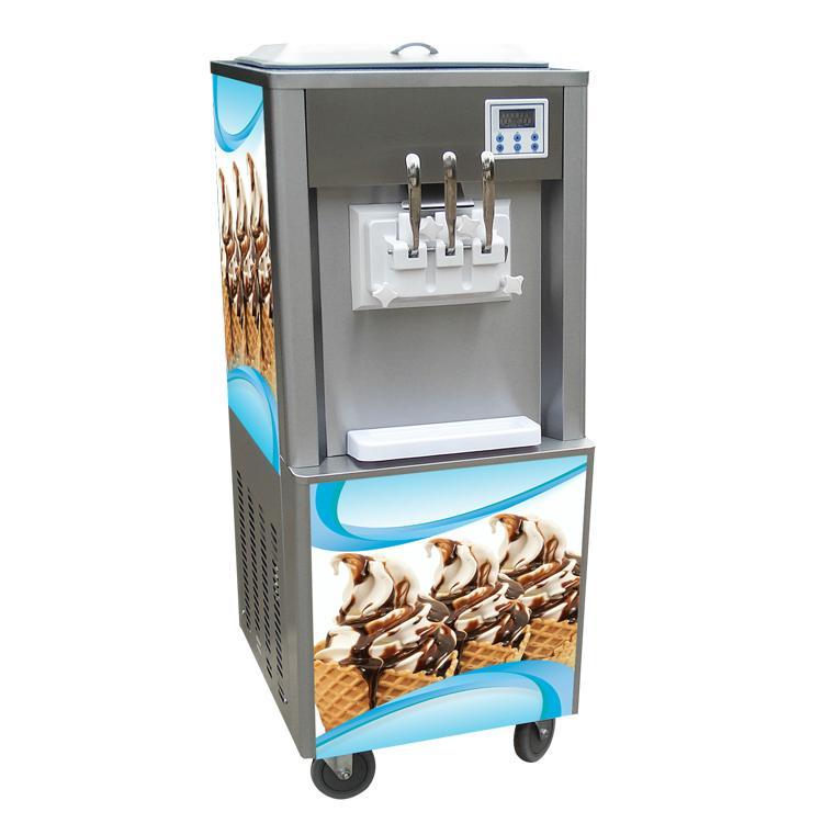 Soft Serve Ice Cream Italy Frozen Yogurt Dispensing Machine Price In India