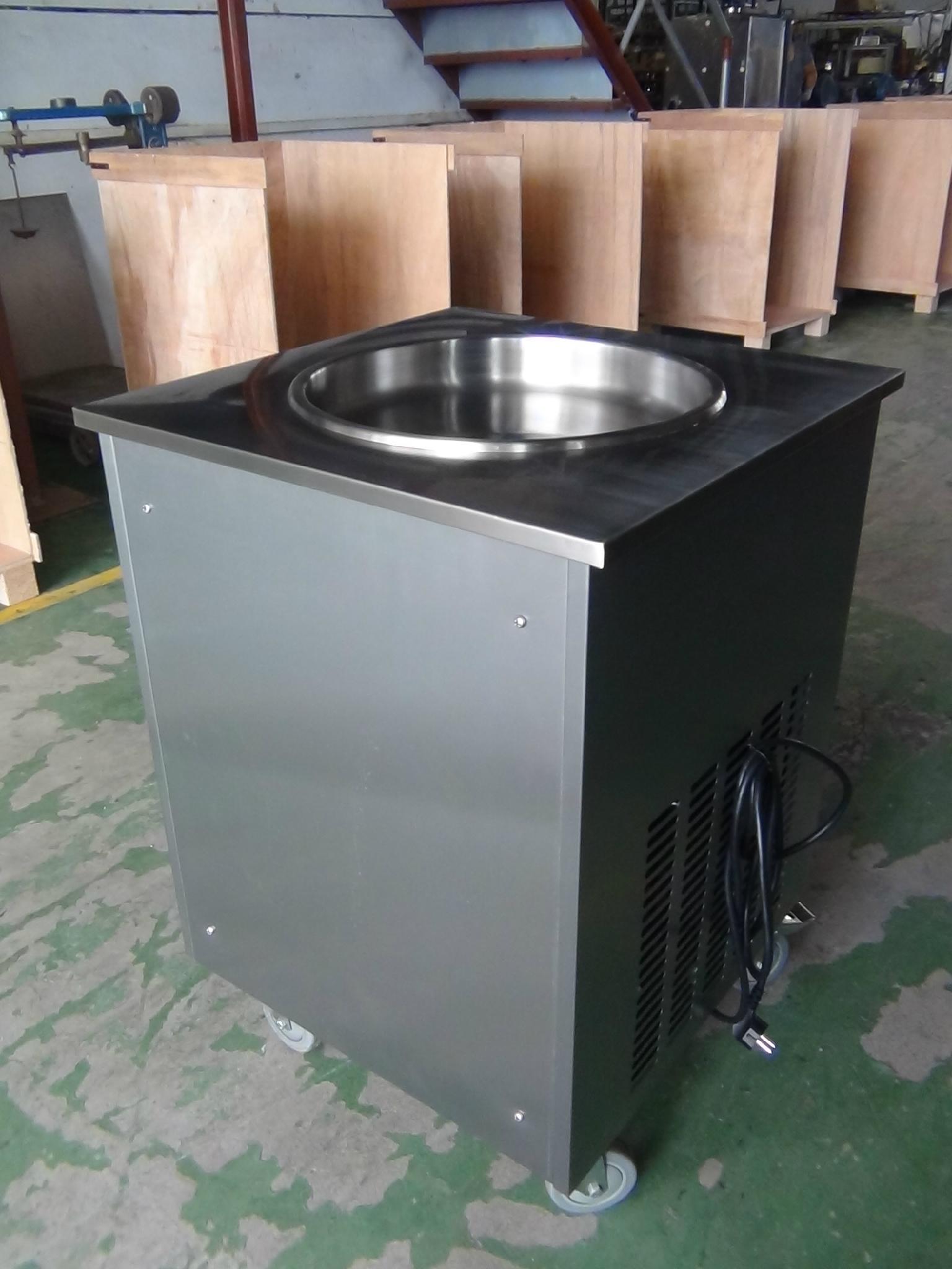 High Quality WF900 Single Pan Fried Ice Cream Machine, Fry Ice Cream Machine