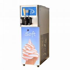 2018新款BQ115S單頭臺式小型軟冰淇淋機 奶茶店專用