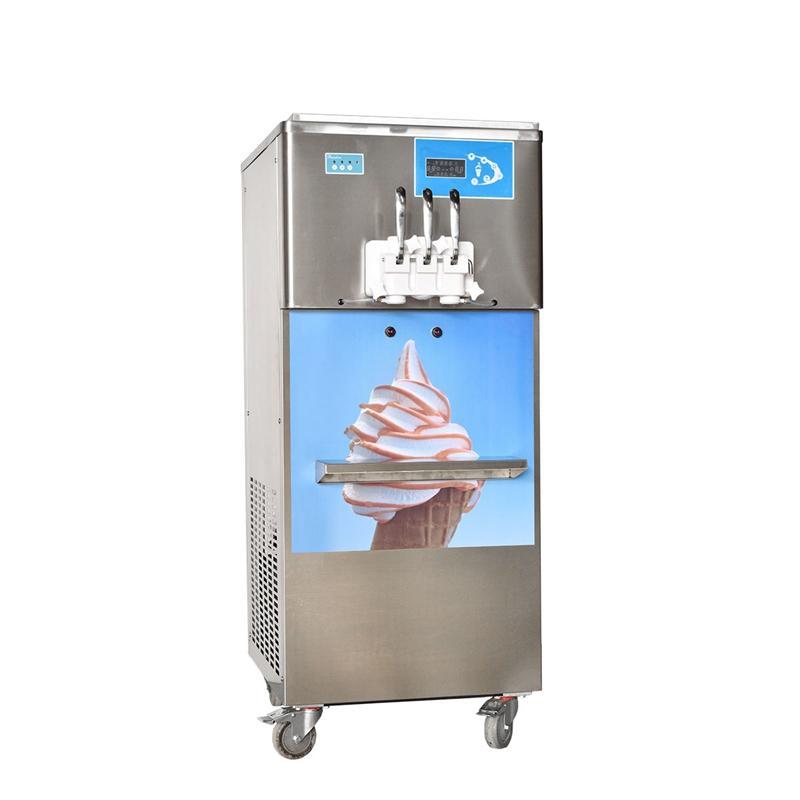 2018新款BQ332-S彩虹軟冰激凌機 立式甜筒雪糕機