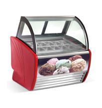 Commercial Use Italian Ice Cream Freezer Display