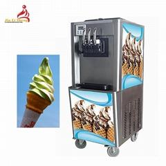 商用三色软冰淇淋机