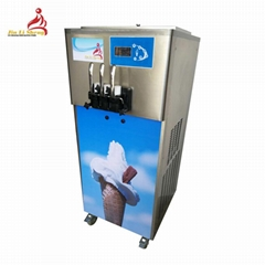 2018 New Best Price 3 Flavor Commerical Soft Ice Cream Machine