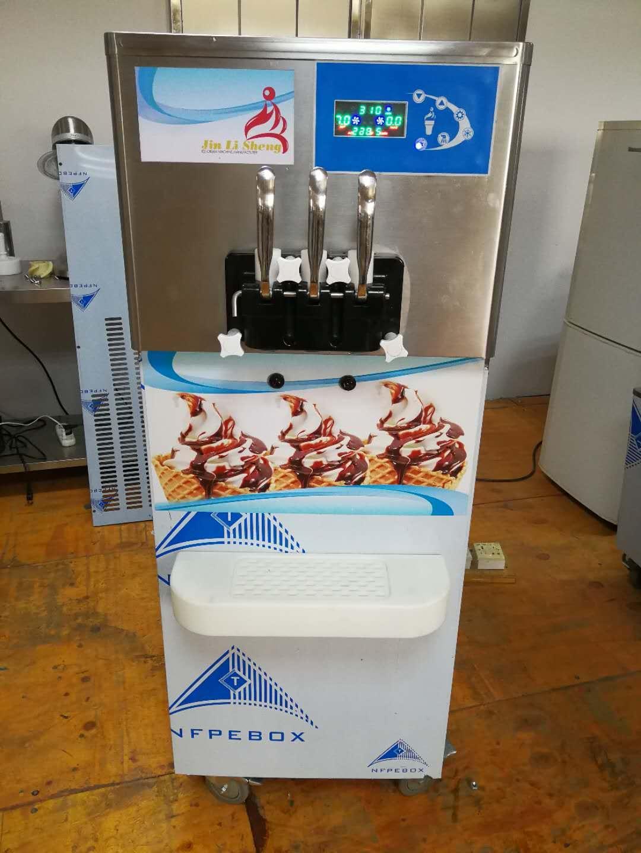 2018 New Best Price 3 Flavor Commerical Soft Ice Cream Machine