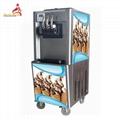 Hot Sale 3 Flavor Soft Icecream Machine