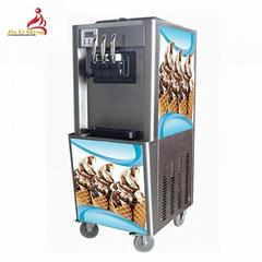 Hot Sale 3 Flavor Soft Icecream Machine For Rental Business