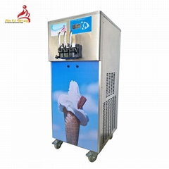3 Flavours Soft Ice Machine For Making Soft Serve Ice Cream And Frozen Yogurt    (Hot Product - 1*)