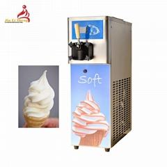 Gravity Feed Single Flavor Small Soft Serve Ice Cream Machine