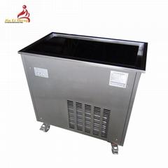 Good Quality CB-100 Cold Stone Marble Slab Top Fry Ice Cream Machine