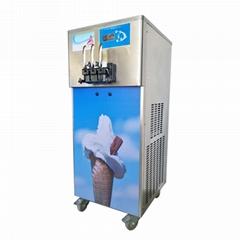 金利生软冰淇淋机 商用软冰激凌机 立式甜筒雪糕机