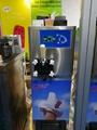 Air Pump Hopper Agitator Sinlge Flavor Table Top Soft Serve Ice Cream Machine